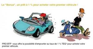 PRET PRO BTP Construction Crédit Auto Simulation Montant Taux Durée