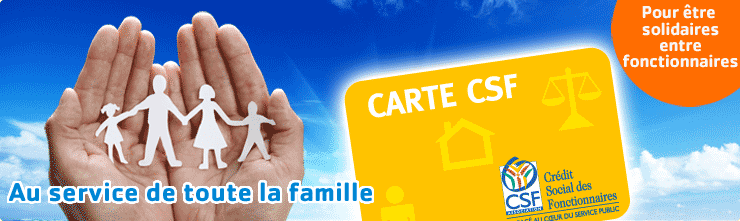 CREDIT SOCIAL DES FONCTIONNAIRES