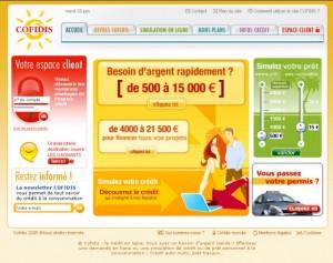 WWW.COFIDIS.FR Rubrique Crédit Paiement en ligne Espace recrutement