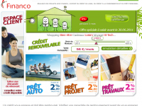 Mon compte WWW.FINANCO Espace Client