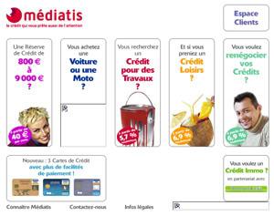 MEDIATIS Crédit en ligne