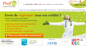 PREFEO Rachat de Crédit