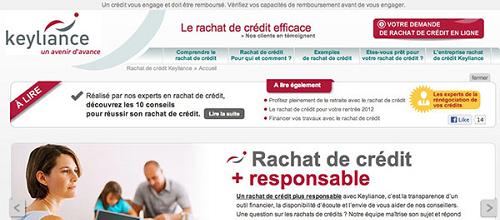 Rachat de crédit Keyliance en ligne