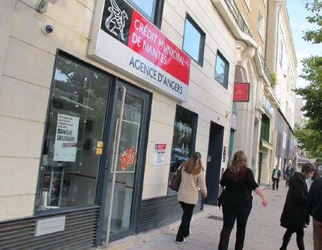 Crédit Municipal Angers Prêt sur gage