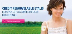 Compte ETALIS Crédit Mutuel nouveau Prêt renouvelable modulable